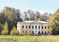 Old abandoned mansion Stock Photo