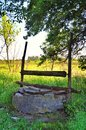 Old abandoned well Royalty Free Stock Photo
