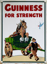 Old advert - Guinness Royalty Free Stock Photo