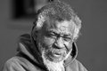 Old African American homeless man Royalty Free Stock Photo