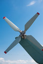 Old airplane with propeller at the airfield Royalty Free Stock Photo