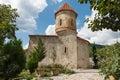 Old Albanian church in Kish Azerbaijan Royalty Free Stock Photo
