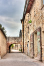 Old alley in Tuscany Royalty Free Stock Photo