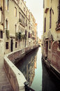 Old alleyway in Venice, Italy Royalty Free Stock Photo
