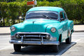 Old american car in a street of Havana, Cuba Stock Images