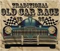 Old American Car Vintage Classic Retro man