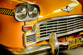 Old American Taxi Royalty Free Stock Photo