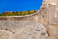 Old amphitheater Aspendos in Antalya, Turkey Stock Photos