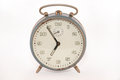 Old analog alarm clock vintage Royalty Free Stock Images