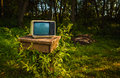 Old analog TV