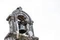 Old ancient medieval dark stone church, chapel, monastery brass Royalty Free Stock Photo