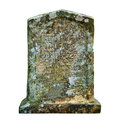 Old ancient tombstone Royalty Free Stock Photo