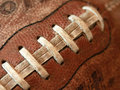 Old Antique Football Royalty Free Stock Photo