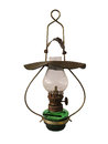 Old antique oil lamp Royalty Free Stock Photo