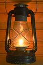 Old antique oil lantern Royalty Free Stock Photography