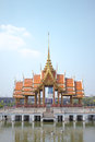 The old or antique the thailand pavillion Royalty Free Stock Image