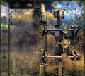 Old Antique Vintage Bank Vault Royalty Free Stock Photo