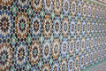 Old Arab Geometric Mosaic Royalty Free Stock Photo