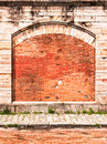 Old arch church nice background space text Royalty Free Stock Image