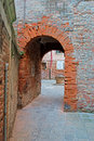Old arch underpass in an antique venice backstreet Stock Images