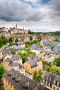 Old Architecture in Luxembourg City Royalty Free Stock Photo