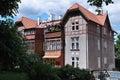 Old architecture nice example xix century gdansk oliva poland Stock Image