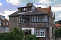 Old architecture nice example xix century gdansk oliva poland Royalty Free Stock Photo