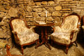 Old armchairs Royalty Free Stock Photo