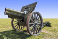Old artillery cannon Royalty Free Stock Photo