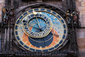 Old astronomical clock Stock Photography