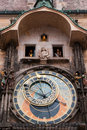 Old astronomical clock. Royalty Free Stock Photo