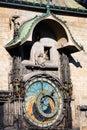 Old astronomical clock, Prague Royalty Free Stock Photo