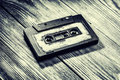 Old audio cassette Royalty Free Stock Photo