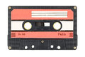 Old audio tape cassette Royalty Free Stock Photo