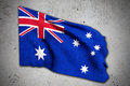 Old australian flag Royalty Free Stock Photo