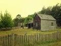 Image : Old Australian shack time legs