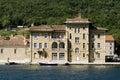 Old Austro-Hungarian hotel Jadran in Bakar Royalty Free Stock Image