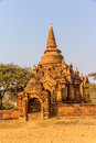 Old bagan ancient temple in myanmar Royalty Free Stock Photography