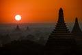 Old Bagan Landscape Royalty Free Stock Photo