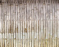 Old bamboo texture Royalty Free Stock Photo