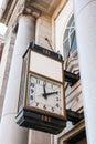 Old Bank Clock