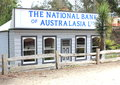 Old bank at coal creek australia in victoria very popular tourist destination Royalty Free Stock Photography