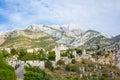Old bar fortress town montenegro Stock Photos