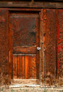 Old Barn Door 4 Stock Image