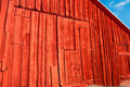 Old Barn with New Paint Royalty Free Stock Photo