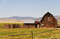Old Barn on a Ranch Royalty Free Stock Photography