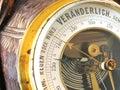 Old barometer Royalty Free Stock Photo