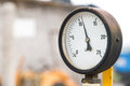 Old barometer with depth of field Royalty Free Stock Photography