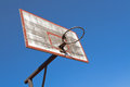 Old basketball hoop Stock Photos