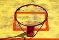Old basketball hoop without net Royalty Free Stock Photography